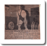 World Lift Record